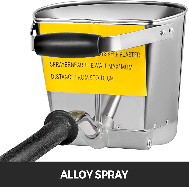para Pared Tolva neum/ática de pulverizaci/ón de mortero de Cemento Spray de Pistola de estuco para Herramientas de concreto para Pared ZB TOP Pistola pulverizadora de mortero Spraycrete