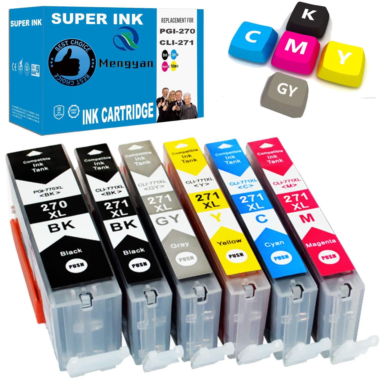 10Pk Ink Cartridge PGI270 CLI-271XL for Canon PIXMA TS6020 MG6822 MG6821 TS5020