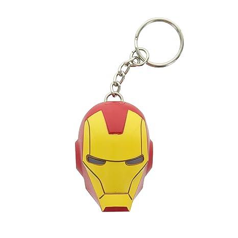 IronMan El Hombre de Hierro Llavero con LED Marvel Avengers ...