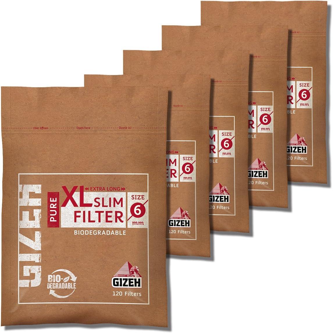 GIZEH『SLIM XL 120個入り ×5袋パック』