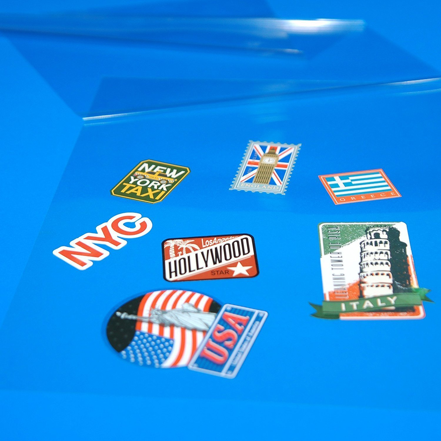 Pack of 50 9 x 12 Inches // 4 Mil Huntz Self-Adhesive Laminating Sheets Letter Size Clear HT-LMS50P