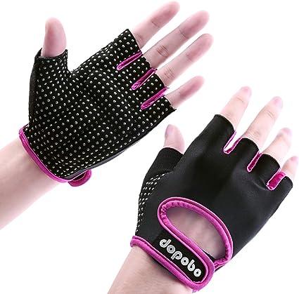 Dopobo - Guantes de gel para mujer, guantes de entrenamiento para ...