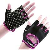 Dopobo - Guantes de gel para mujer, guantes de entrenamiento para el gimnasio, para fitness y ciclismo