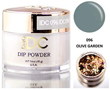 DND DC Blues \u0026 Greens DIP POWDER for Nails 1.6oz, 45g, Daisy Dipping (with  bonus side Glitter) Made in