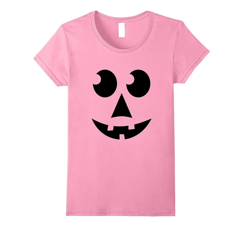 Fun Jack-O-Lantern Pumpkin Halloween Tee Round Eyes