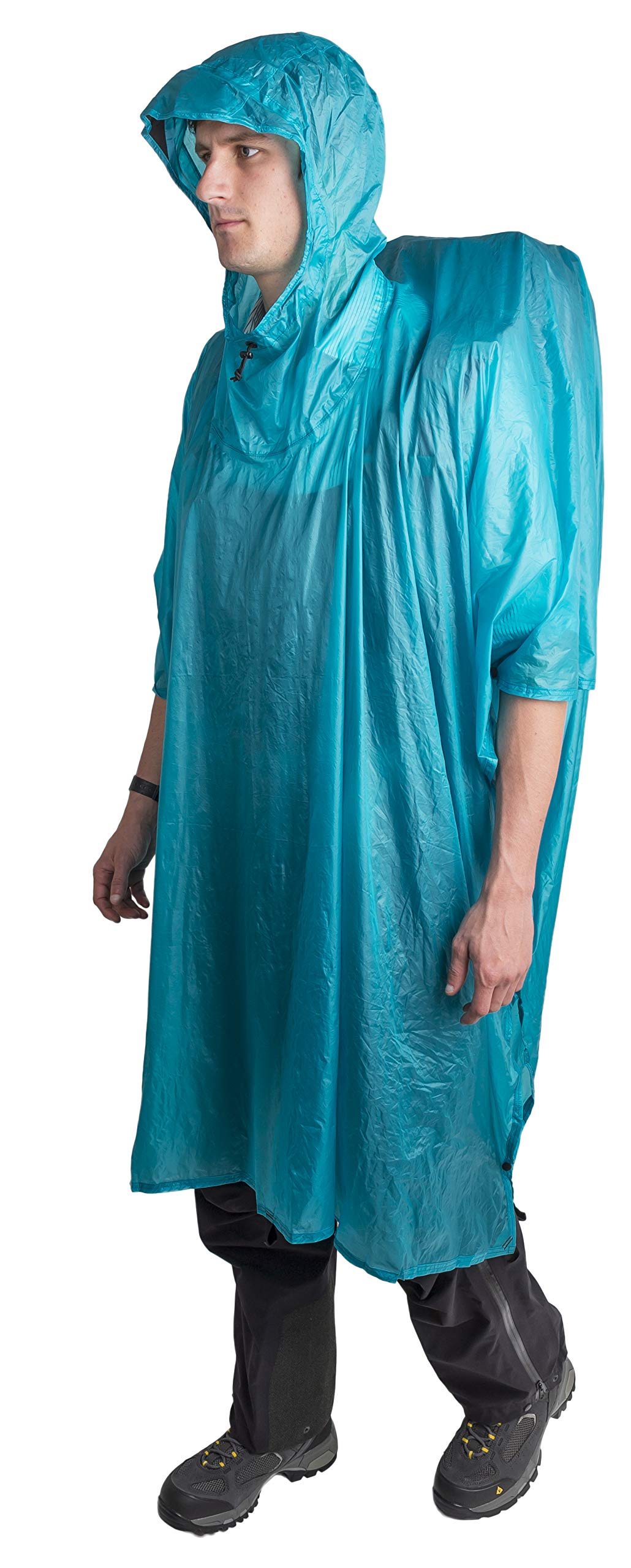 Sea to Summit Ultra-SIL NanoTarp-Poncho (Pacific Blue) by Sea to Summit