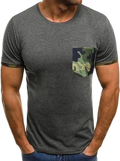 Camisetas Hombre Manga Corta, Venmo Slim fit Camiseta de Manga Corta Hombre impresión Camisas Casual Blusas Camisetas Tops Mujer Originales Divertidas: Amazon.es: Ropa y accesorios