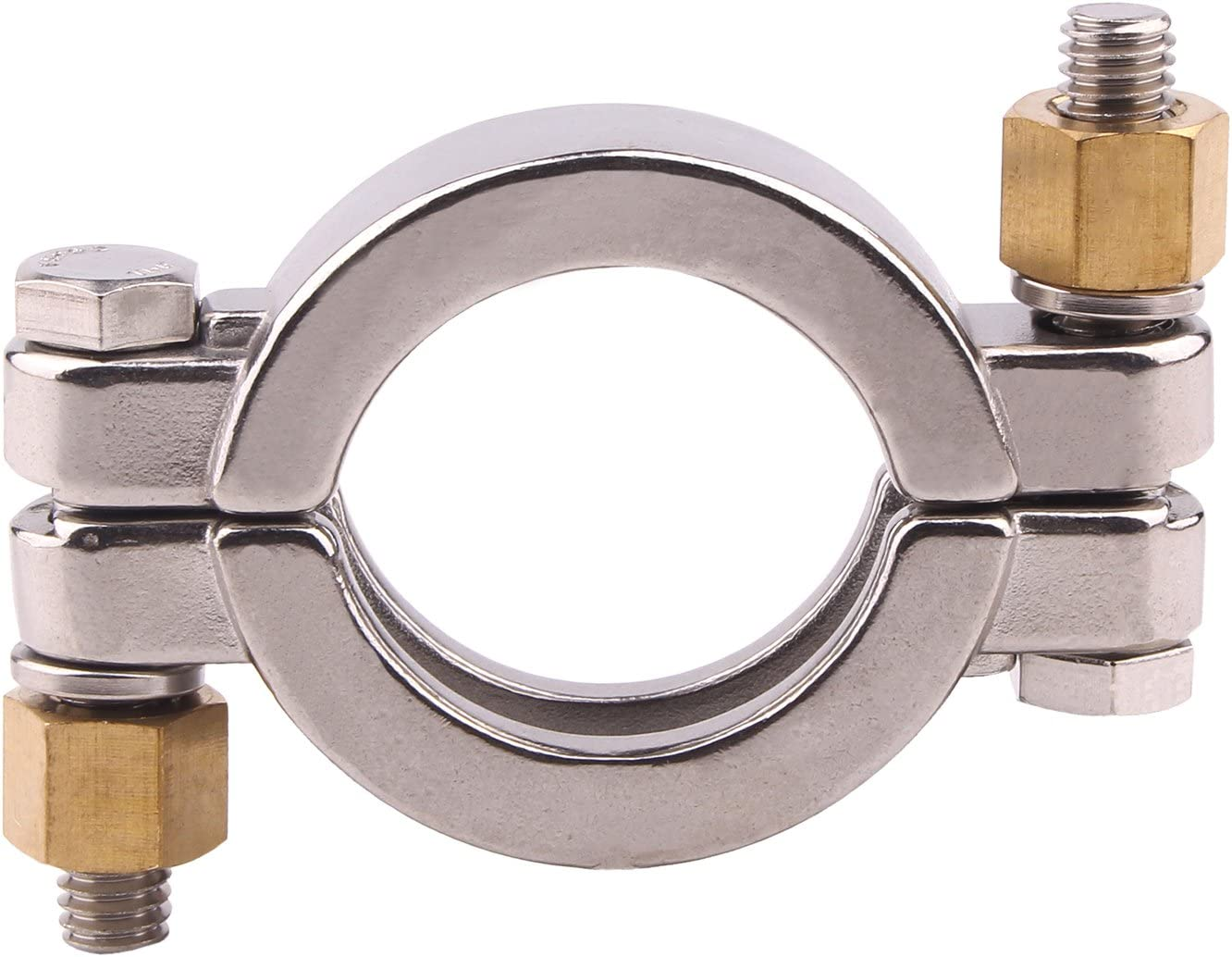 """VNE CORP SANITARY TYPE 304 SS HEAVY DUTY TRI CLAMP 2/"""" INCH *NEW*"""