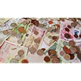 Pmw® - Combo - 10 Different World Currency Notes - UNC Condition + 10 World Coins - All Legal - Great for Collection
