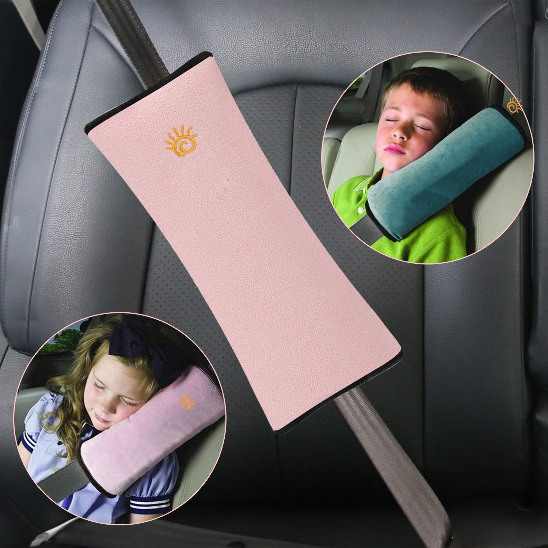 Gurtpolster Gurtschoner Gurtschutz Kissen Reise Kinder Baby Auto sitz NEU