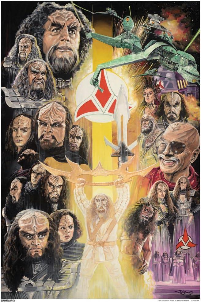 Pyramid America Star Trek Klingons 50th Anniversary TV Show Cool Wall Decor Art Print Poster 13x19