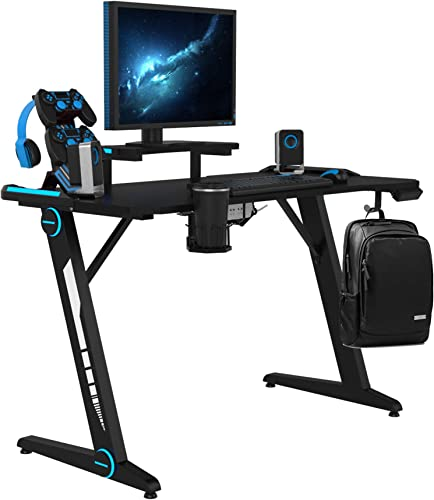 Gaming Desk 47″ Gaming Table E-Sports Computer Desk