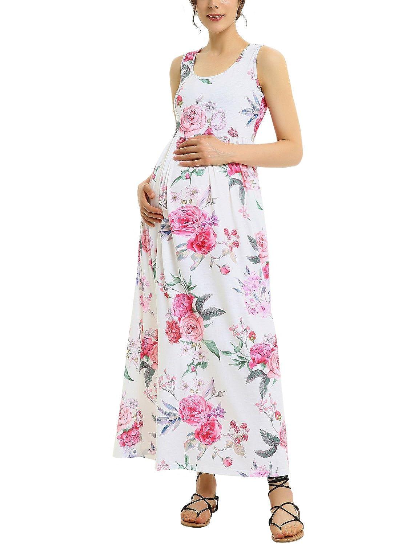 GINKANA DRESS レディース B07DXR62Z6 Large|White With Red Flower White With Red Flower Large
