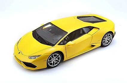 Lamborghini Huracan LP610-4 Yellow 1:18 Diecast Model 11038y