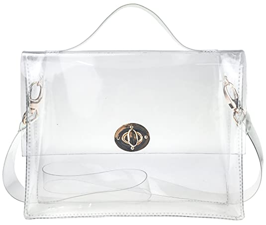 7 carteras de plástico transparente que estarán muy de moda este ...