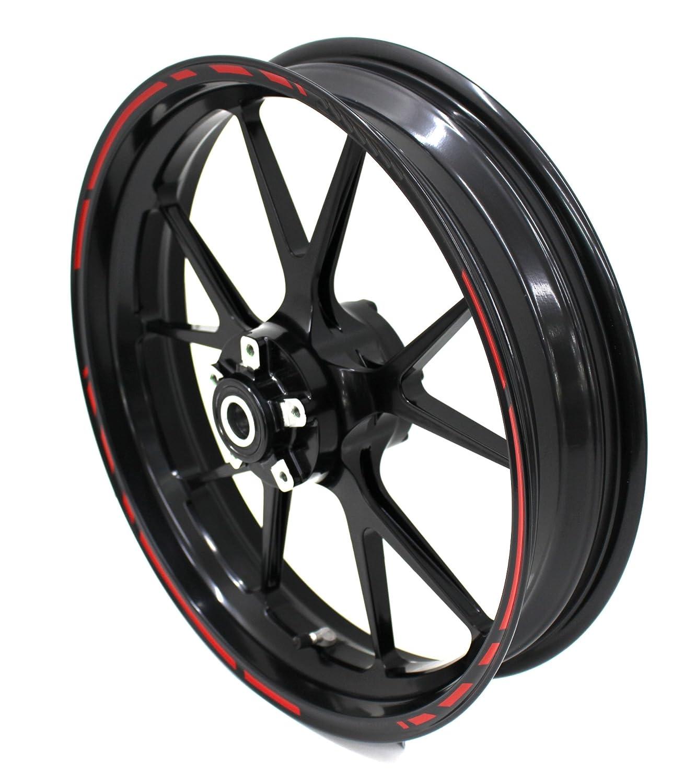 Simoni Racing Wheelstripe Race Design 12/Pieces Set Including Finest//Folia 19/Wheels Motorcycle Car Bike Bicycle Suitable for 17/inch//16//18