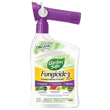 Amazon.com : Garden Safe Fungicide3 Concentrate (Ready-to-Spray) (HG ...