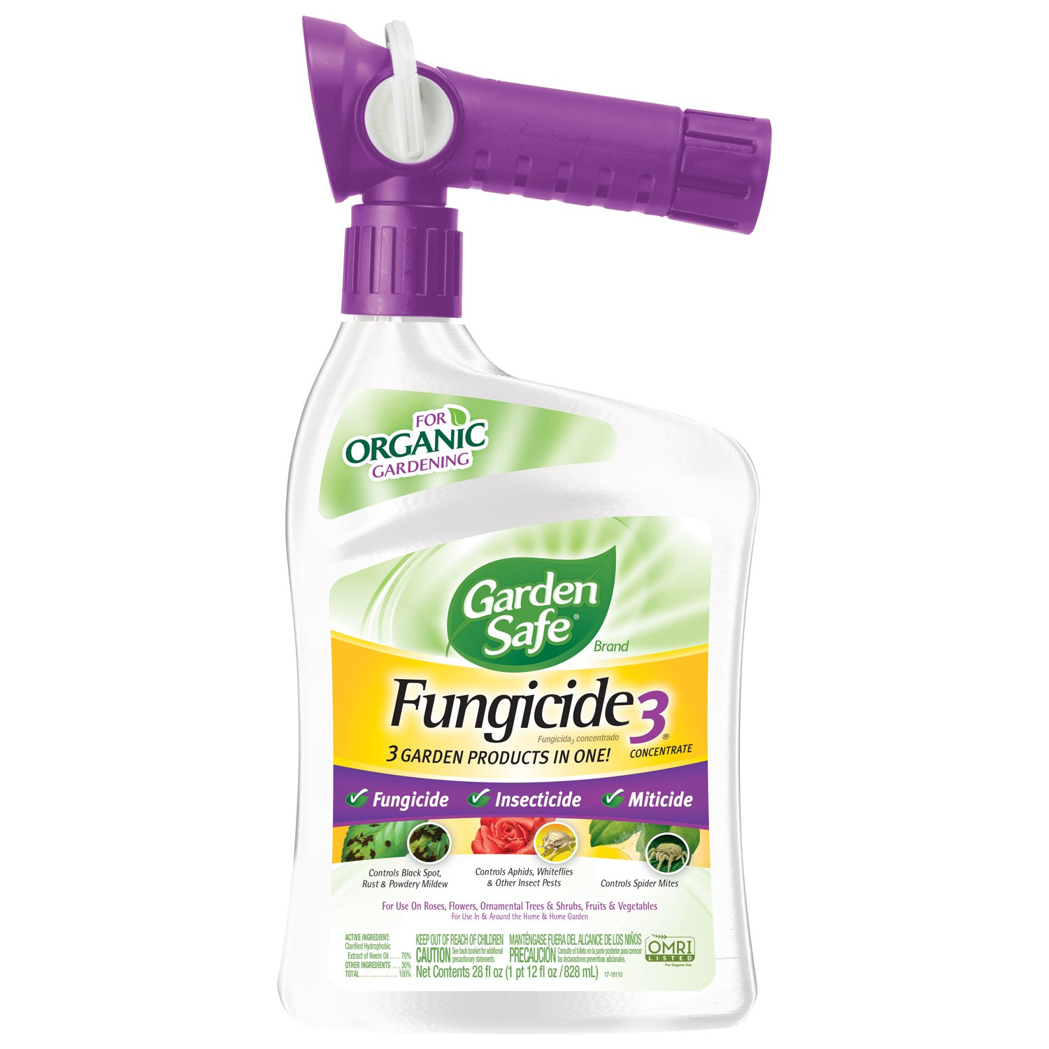 Garden Safe Fungicide3 Concentrate (Ready-to-Spray) (HG-83197)