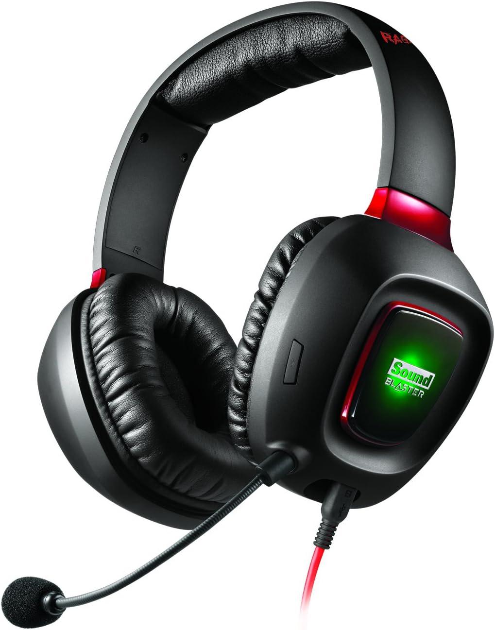 Creative Labs Sound Blaster Tactic3D Rage USB V2.0 Binaural ...