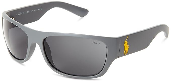 Amazon.com: Polo Ralph Lauren 0ph4074 Wrap anteojos de sol ...