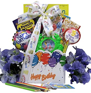 Amazon Great Arrivals Kids Birthday Gift Basket Ages 6 To 8
