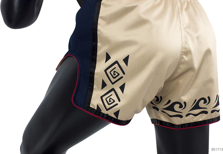 Red Yellow White M XL L Orange Black Fairtex New Muay Thai Boxing Shorts Slim Cut Khaki, X-Large Blue S