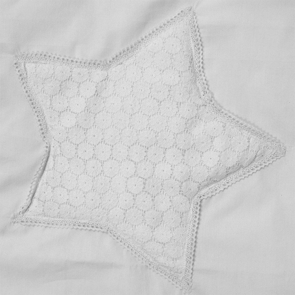 Taftan - Funda nórdica Crochet, 100 x 135 cm, Star: Amazon ...