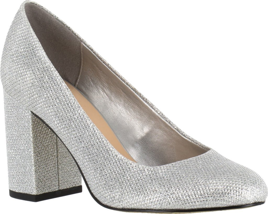 Bella Vita Women's Nara Dress Pump B01KAYY1PU 7.5 XW US|Silver