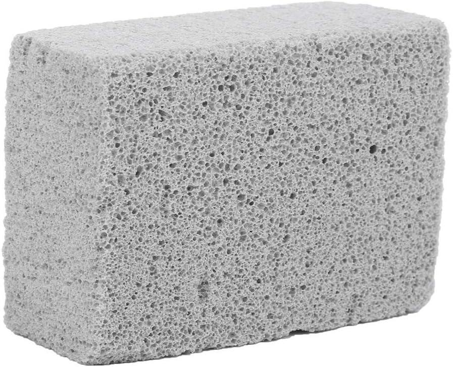 경 석 돌릴 청소 벽돌 과자 굽는 번철 그릴 청소 벽돌 블록 경 석 돌 청소기 도구에 대한 얼룩 제거 바베큐 청소 평면 위에 COOKERS