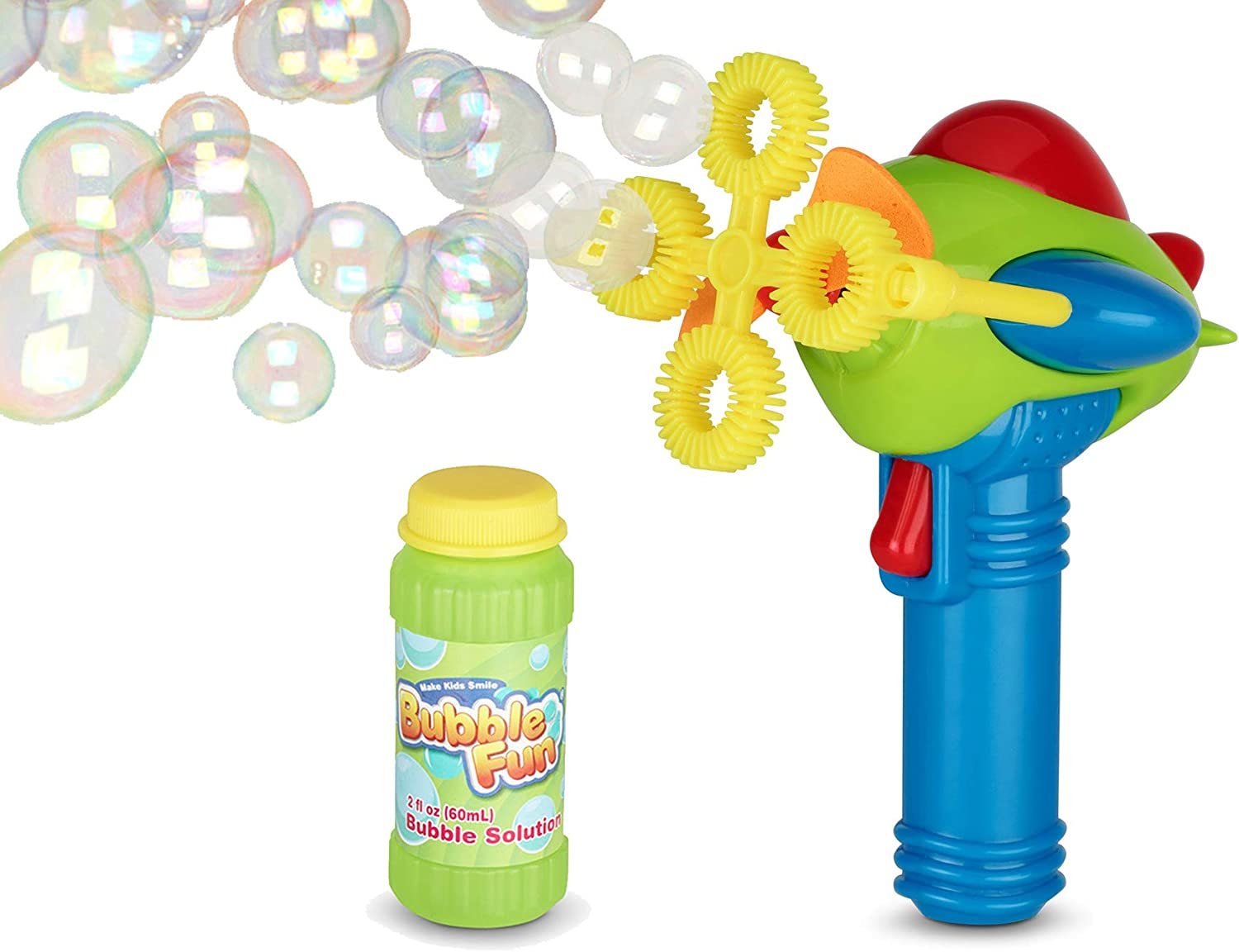 MINI Marshmallow Blower Shooter Blows  UP TO 20 FEET Blaster Gun SAFE INDOOR FUN