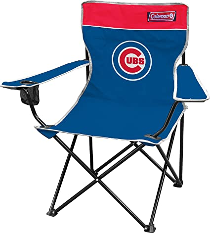 Coleman MLB Broadband Quad Silla, 22908, Chicago Cubs ...