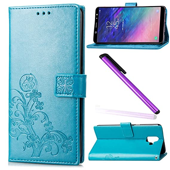buy popular 23477 aa0cd Amazon.com: Galaxy A6 Case Samsung A6 Cover EMAXELER Protection ...