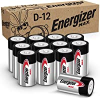 Deals on 12-PK Energizer Max D Batteries Premium Alkaline D Cell Batteries
