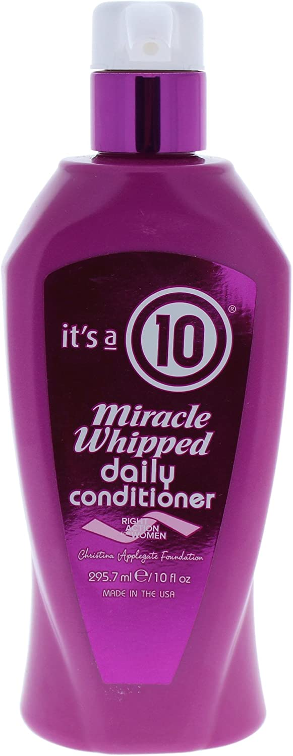 It's a 10 Haircare Miracle Whipped Daily Conditioner, 10 fl. oz.