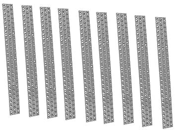 Eurosell 10 Unidades 45 cm=4, 50 m - Tiras para Ahuyentador de Palomas Pájaros Protección Pinchos stacheln/también para asegurar de los Ladrones.