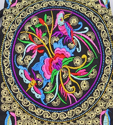 hombro ElkIsComing mujer Multicolor para Bolso al ZwqHAp