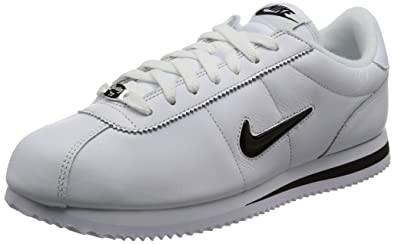 23f06084018fb7 Image Unavailable. Image not available for. Color  Nike Men s Cortez Basic  Jewel Qs Tz White