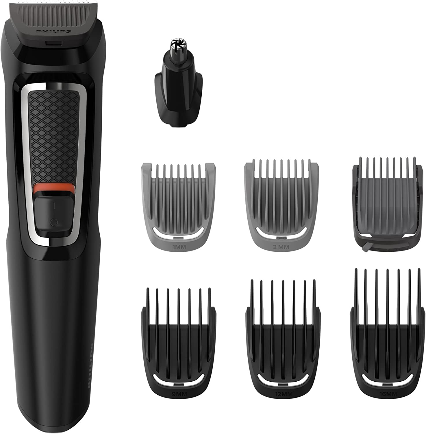 Philips MG3730/15 Recortadora para barba y pelo, 8 en 1 ...