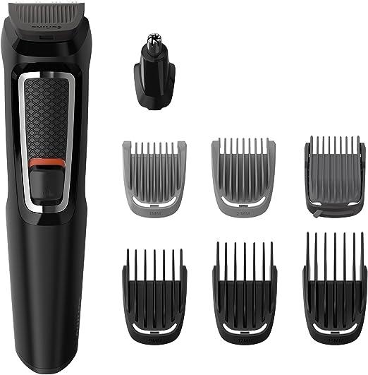 Philips MG3730/15 Recortadora para barba y pelo, 8 en 1 ...