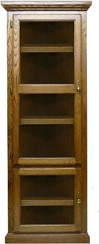 Forest Designs Traditional Corner Bookcase