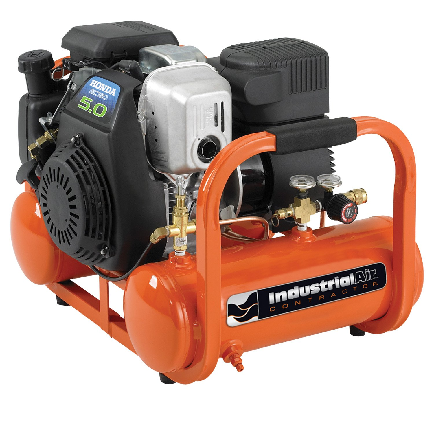 3.  <strong>Industrial Air Contractor CTA5090412 Gas Powered Air Compressor</strong>