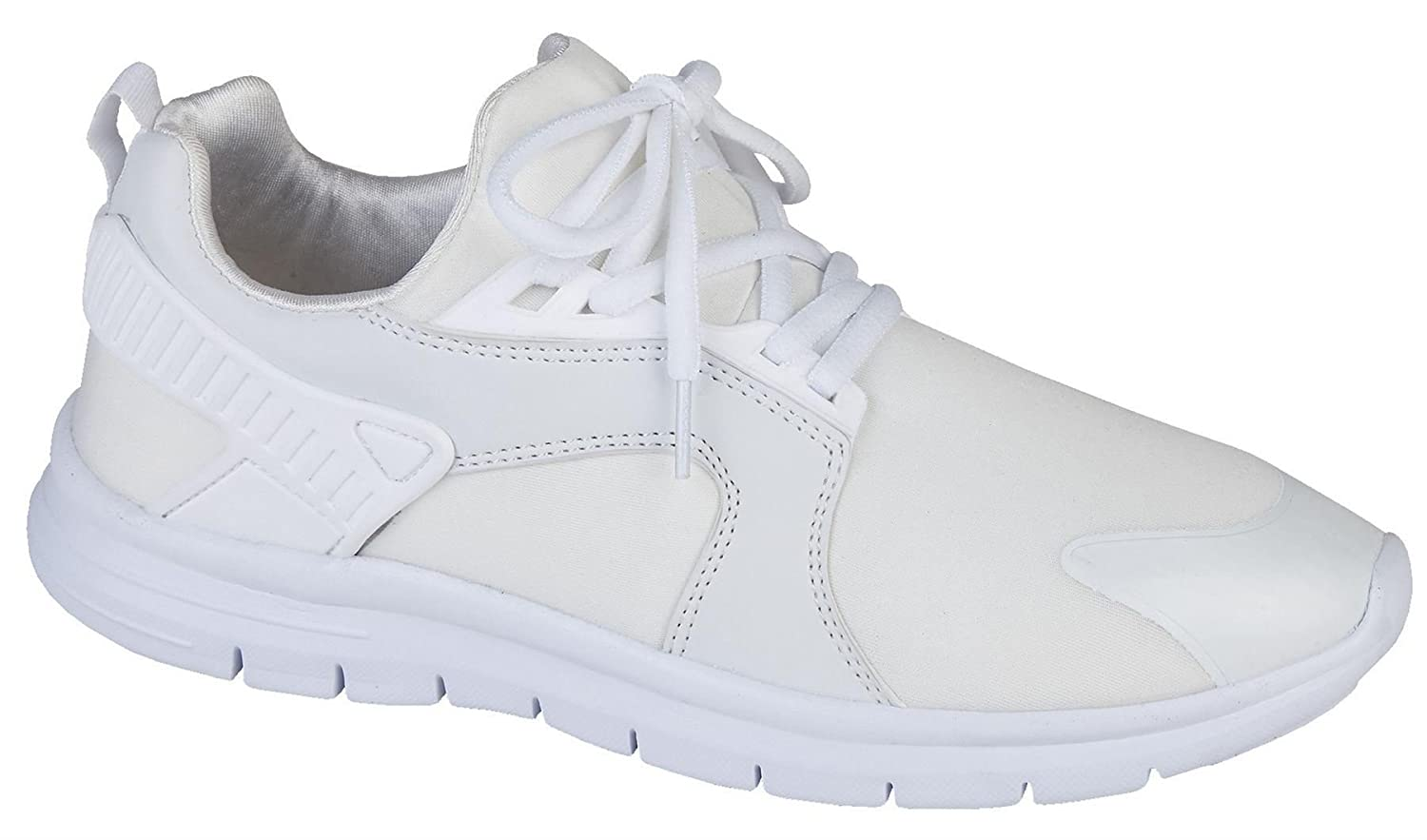 Mens Trainers Air Tech Lace Up Casual Gym Running Jogger Shoes Size