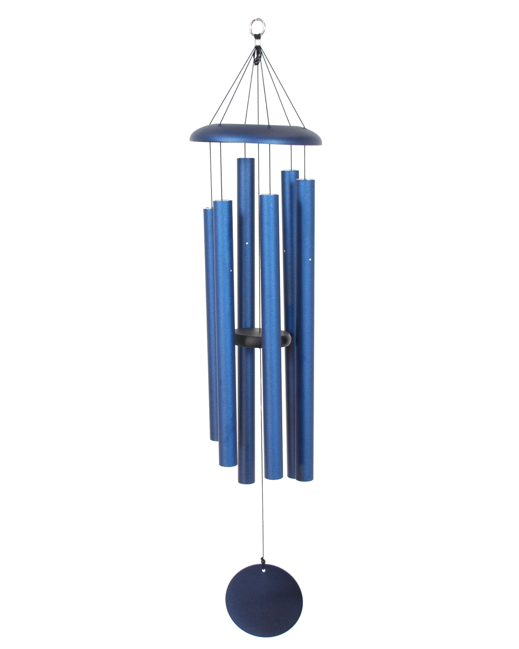 Corinthian Bells 44-inch Windchime, Midnight Blue