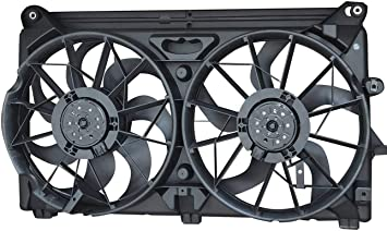Dual Radiator Cooling Fan Assembly for Chevy GMC Cadillac Pickup Truck SUV