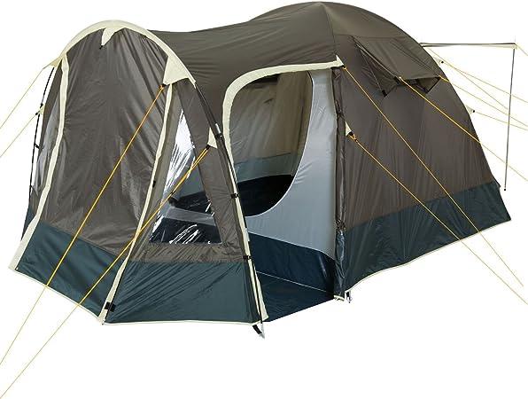 CampFeuer Tienda de Campaña Familiar 4Trip I 3-4 Personas I Columna de Agua 3.000 mm I Tipo Iglú I Campamento