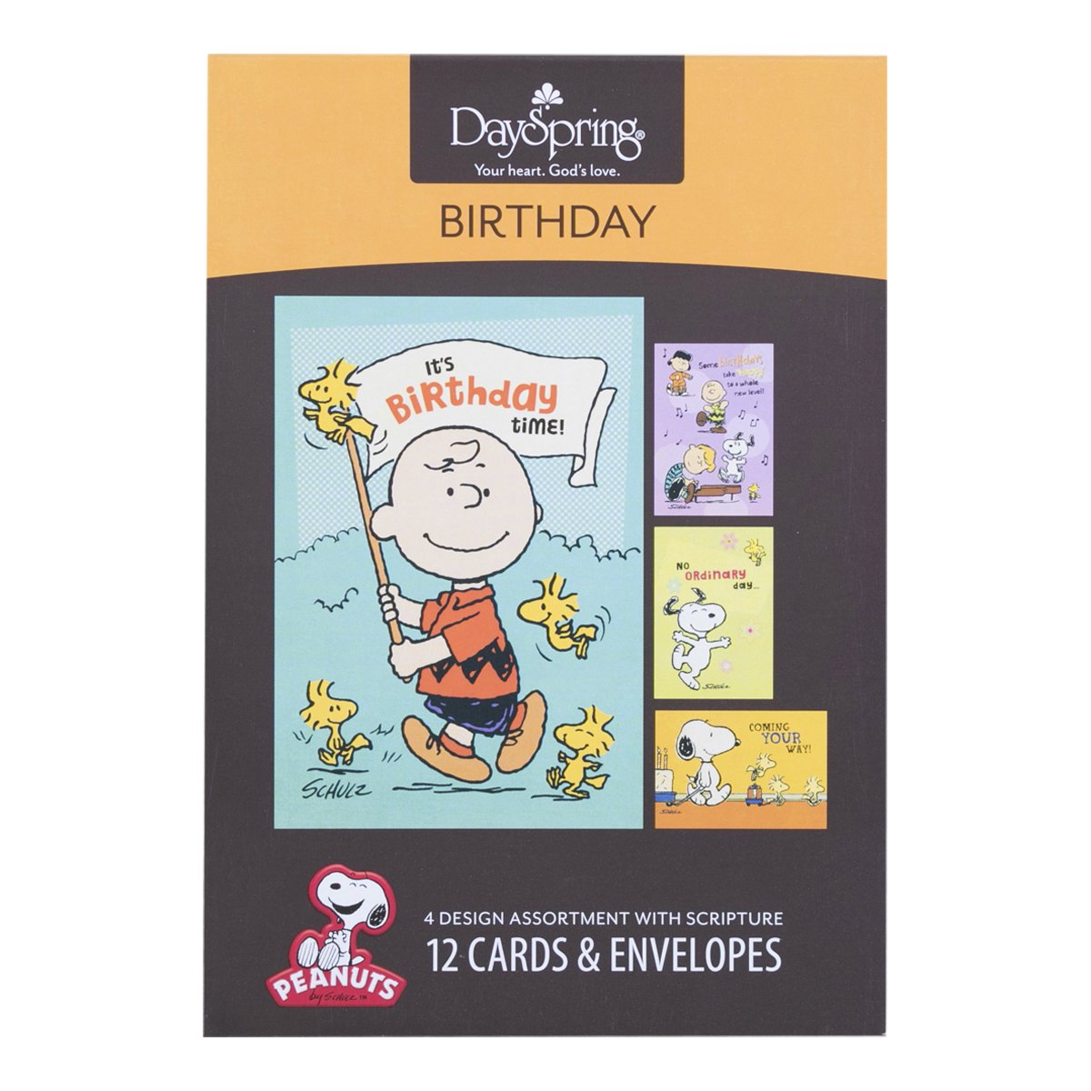 Amazon Peanuts Birthday Inspirational Boxed Cards Office – Boxed Cards Birthday