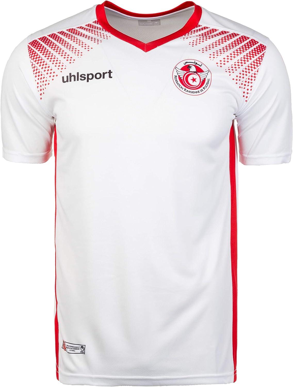 uhlsport - Camiseta de fútbol para Hombre, réplica del Mundial 2018, Hombre, 1003379011956/XL, Blanco, Extra-Large: Amazon.es: Ropa y accesorios