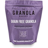 Granola Bakery - Keto Chocolate Coconut Paleo Granola Cereal, 4g Net Carb, 1.33Lb Bulk - Healthy Low Carb Fat Bomb Snack, Gluten Free, Grain Free, Organic Natural Ingredients