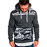 Hmlai Clearance Men's Fashion Slim Fit Casual Short Sleeve Hoodie Solid Plus Size Sport Shirt Top Blouse