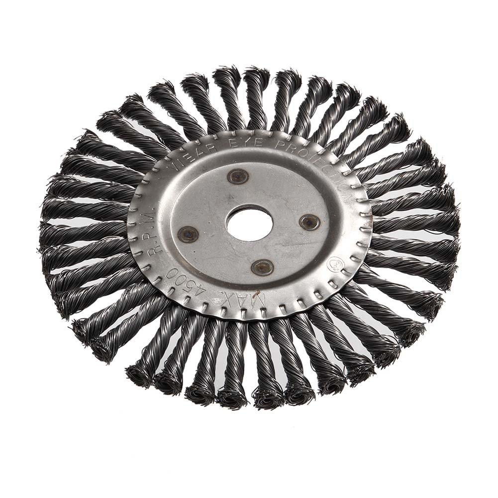 Cutogain Round Twist Scheibenb/ürste 200/mm Konus Geknotet Weed Pinsel Brushcutter